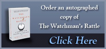 Order an autographed copy of The Watchman's Rattle - Click Here.